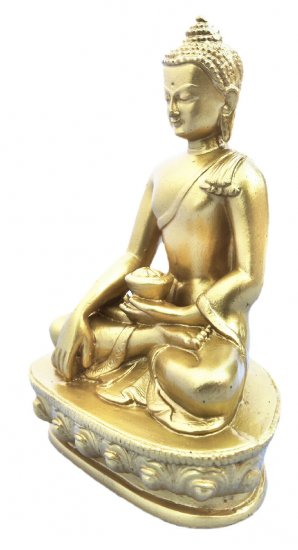 Earth Touching Buddha Gold RB-975