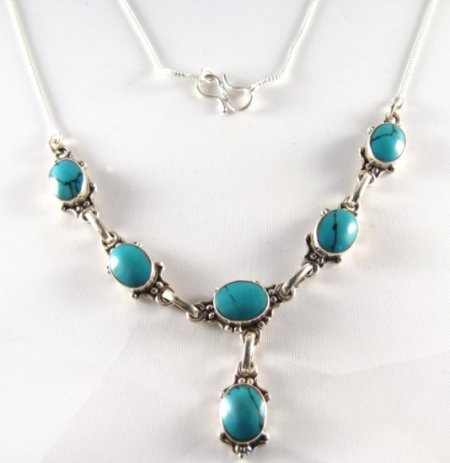 PN-205C Turquoise Necklace