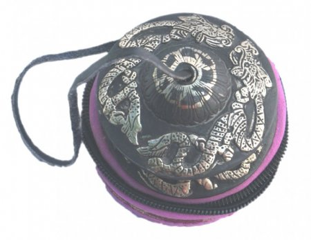 "Tinsha with Dragon in Silk Pouch 4"" TS-008"
