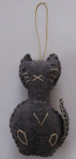 FD-43A Cat Ornaments
