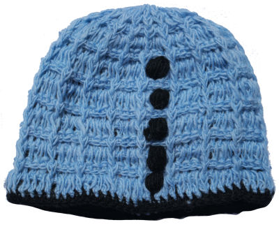Wool Hat Turquoise CP-030C