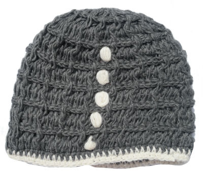 Wool Hat Grey CP-030E