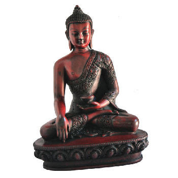 Large Earth Touching Buddha wood looking RB-845R