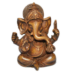 Ganesh with crown stone RG-070B