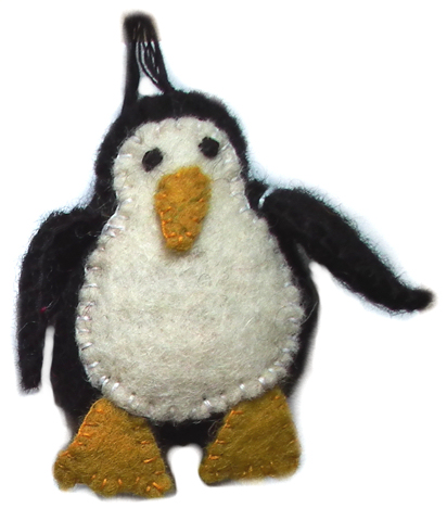 Penguin Ornament FD-0324