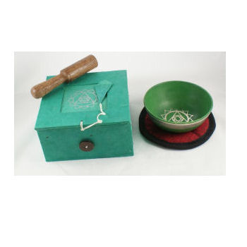 HEART Chakra Singing Bowl Set SB-C04