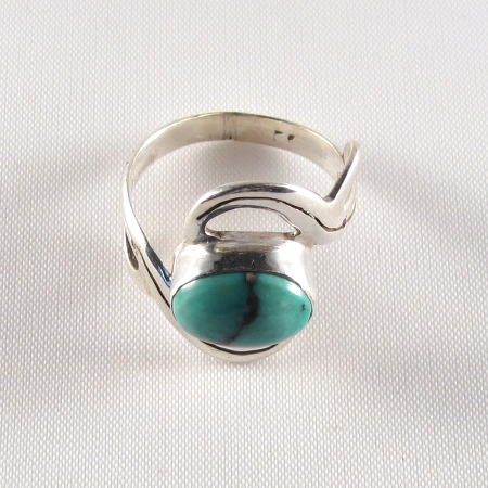 PR-113D Turquoise stone Ring