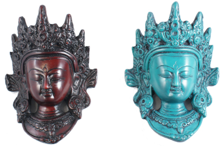 Tara mask in Turquoise RM-009C