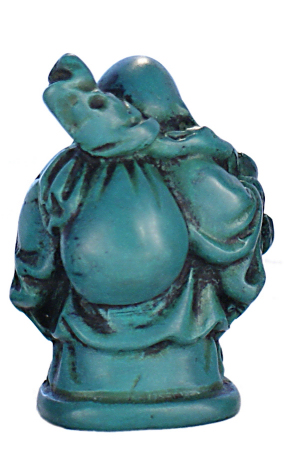 RN-133F Turquoise Laughing Buddha