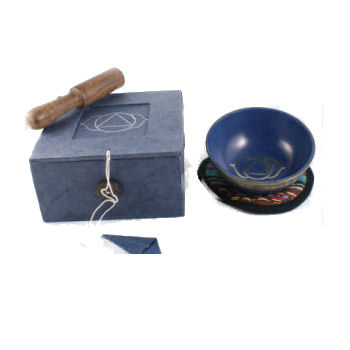 THIRD EYE Chakra Singing Bowl Set SB-CO2