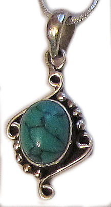 Turquoise Stone Pendent