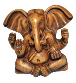 Ganesh with Big Ear Stone RG-060A