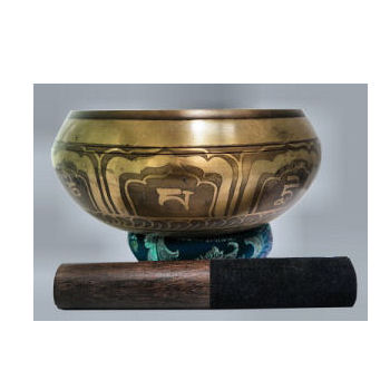 "7"" Auspicious symbol Singing bowl set SB-125"